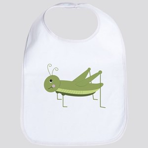 Green Grasshopper Bib