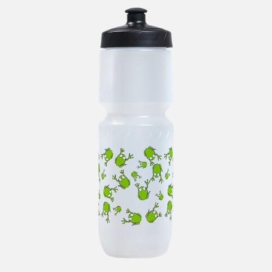 Frog Green Sports Bottle