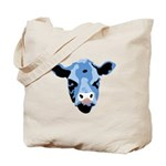 Moody Cow Tote Bag