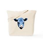 Moody Cow Tote Bag