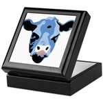 Moody Cow Keepsake Box