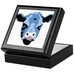 Moody Cow Keepsake Box
