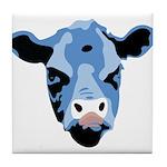 Moody Cow Tile Coaster