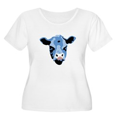 Moody Cow Plus Size T-Shirt