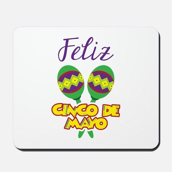 Feliz de Mayo Mousepad