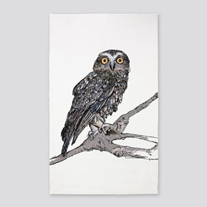 Southern Boobook Owl Area Rug