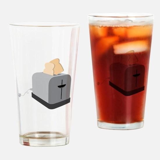 Toaster Master Drinking Glass