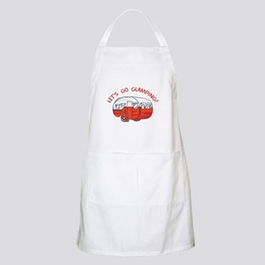 LETS GO GLAMPING Apron