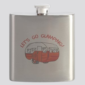 LETS GO GLAMPING Flask