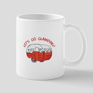 LETS GO GLAMPING Mugs