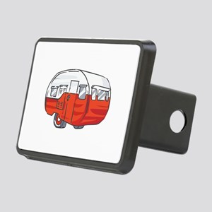 VINTAGE RED CAMPER Hitch Cover