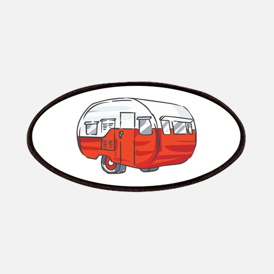 VINTAGE RED CAMPER Patches