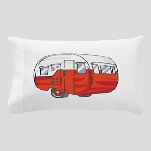 VINTAGE RED CAMPER Pillow Case