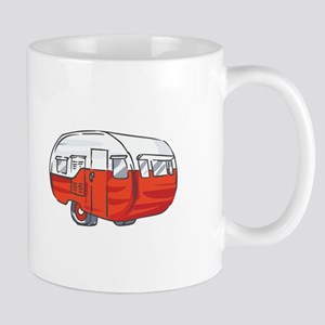 VINTAGE RED CAMPER Mugs