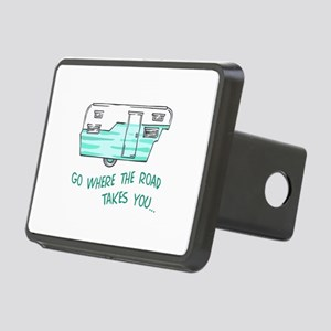 GO WHERE ROAD TAKES YOU Hitch Cover
