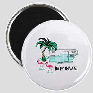 HAPPY GLAMPER Magnets