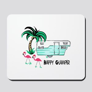 HAPPY GLAMPER Mousepad