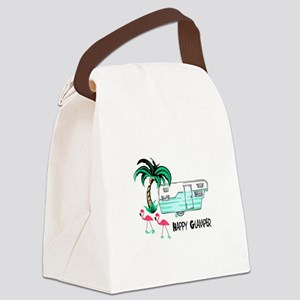 HAPPY GLAMPER Canvas Lunch Bag