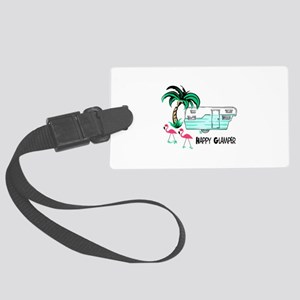 HAPPY GLAMPER Luggage Tag