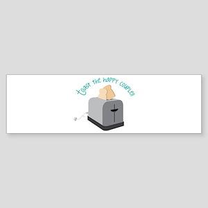 Toast the Couple Bumper Sticker