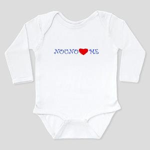 NOUNO LOVES ME Infant Bodysuit Body Suit