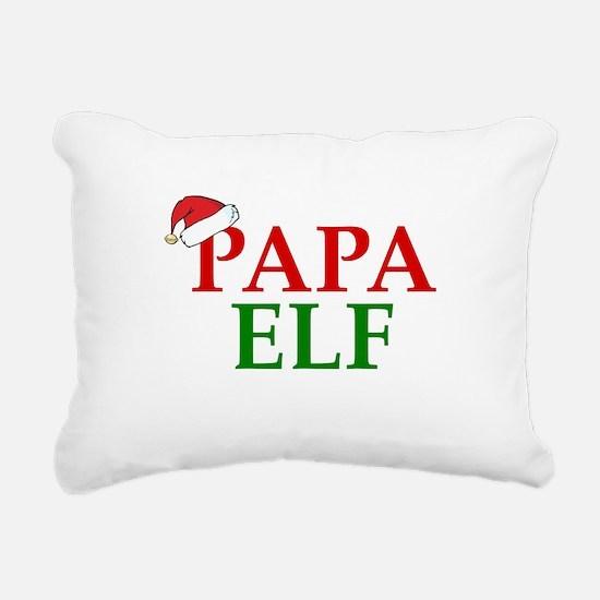 PAPA ELF Rectangular Canvas Pillow