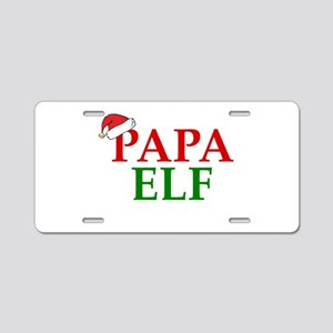 PAPA ELF Aluminum License Plate