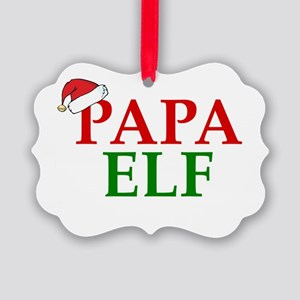 PAPA ELF Ornament