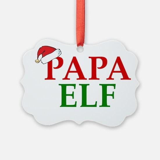 PAPA ELF Ornament