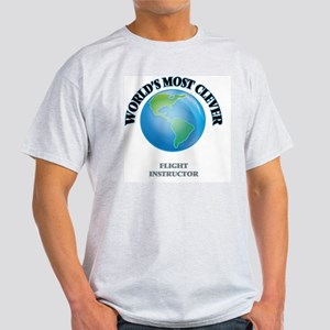 World's Most Clever Flight Instructor T-Shirt