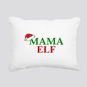 MAMA ELF Rectangular Canvas Pillow