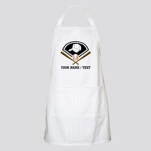 Custom Name/Text Baseball Gear Apron