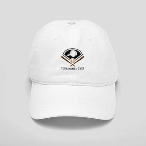 Custom Name/Text Baseball Gear Baseball Cap