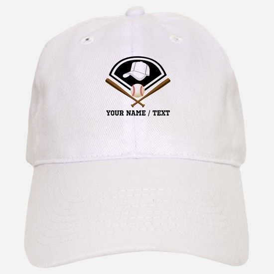 Custom Name/Text Baseball Gear Baseball Baseball Baseball Cap