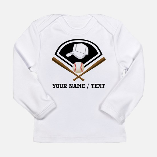 Custom Name/Text Baseball Gear Long Sleeve T-Shirt