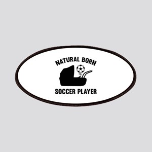 Natural Born Soccer Player Patches