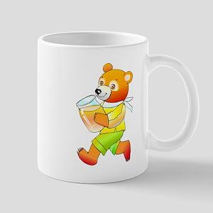 Bear With Honey Jar Mugs