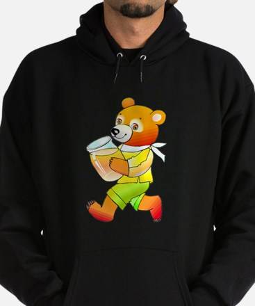 Bear With Honey Jar Hoodie