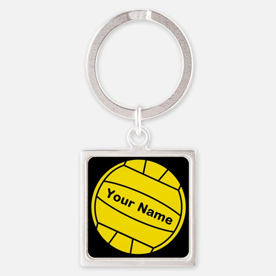 Cute Water polo Square Keychain