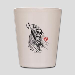 SOA Reaper Face Shot Glass