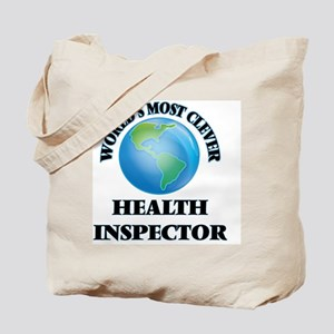 World's Most Clever Health Inspector Tote Bag