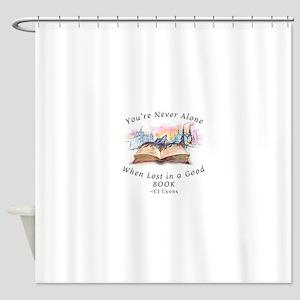 Fantasy Books Shower Curtain