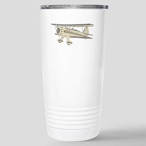 Waco Biplane Stainless Steel Travel Mug