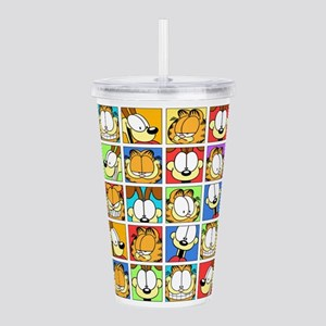 Garfield Face Time Acrylic Double-wall Tumbler