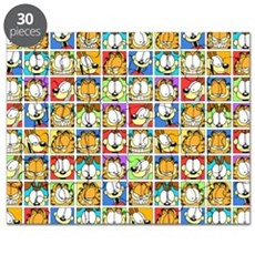 Garfield Face Time Puzzle