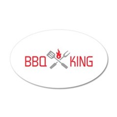 BBQ KING Wall Decal