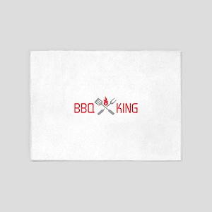 BBQ KING 5'x7'Area Rug