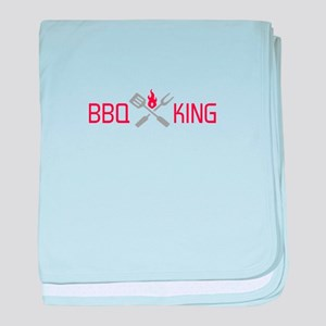 BBQ KING baby blanket