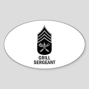 GRILL SERGEANT 2 Sticker
