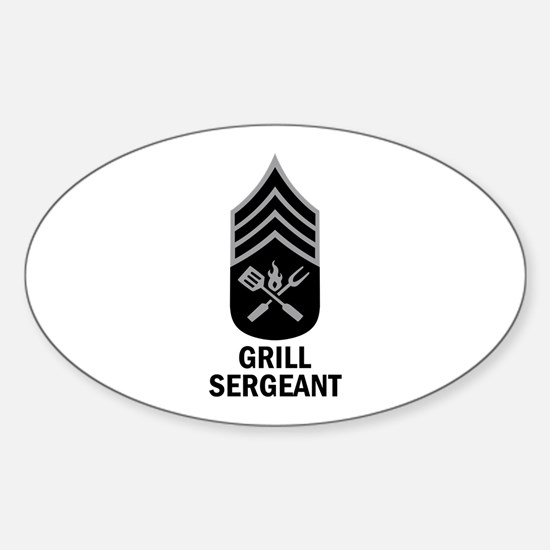GRILL SERGEANT 2 Decal